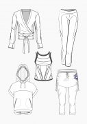 Produkt: Download Schnitt-Technik DOB Yoga Kleidung