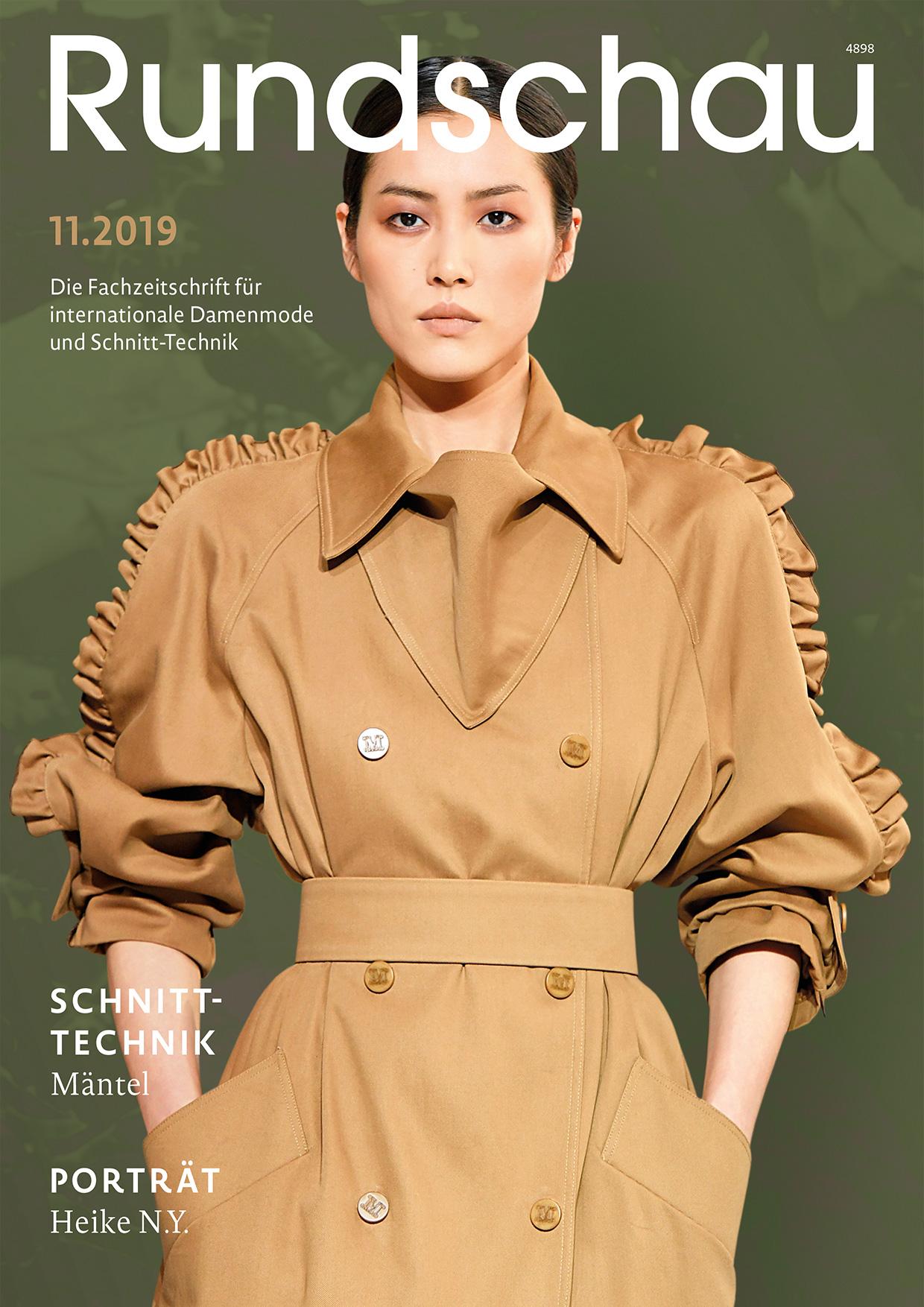 Produkt: Rundschau für Internationale Damenmode 11.2019 Digital