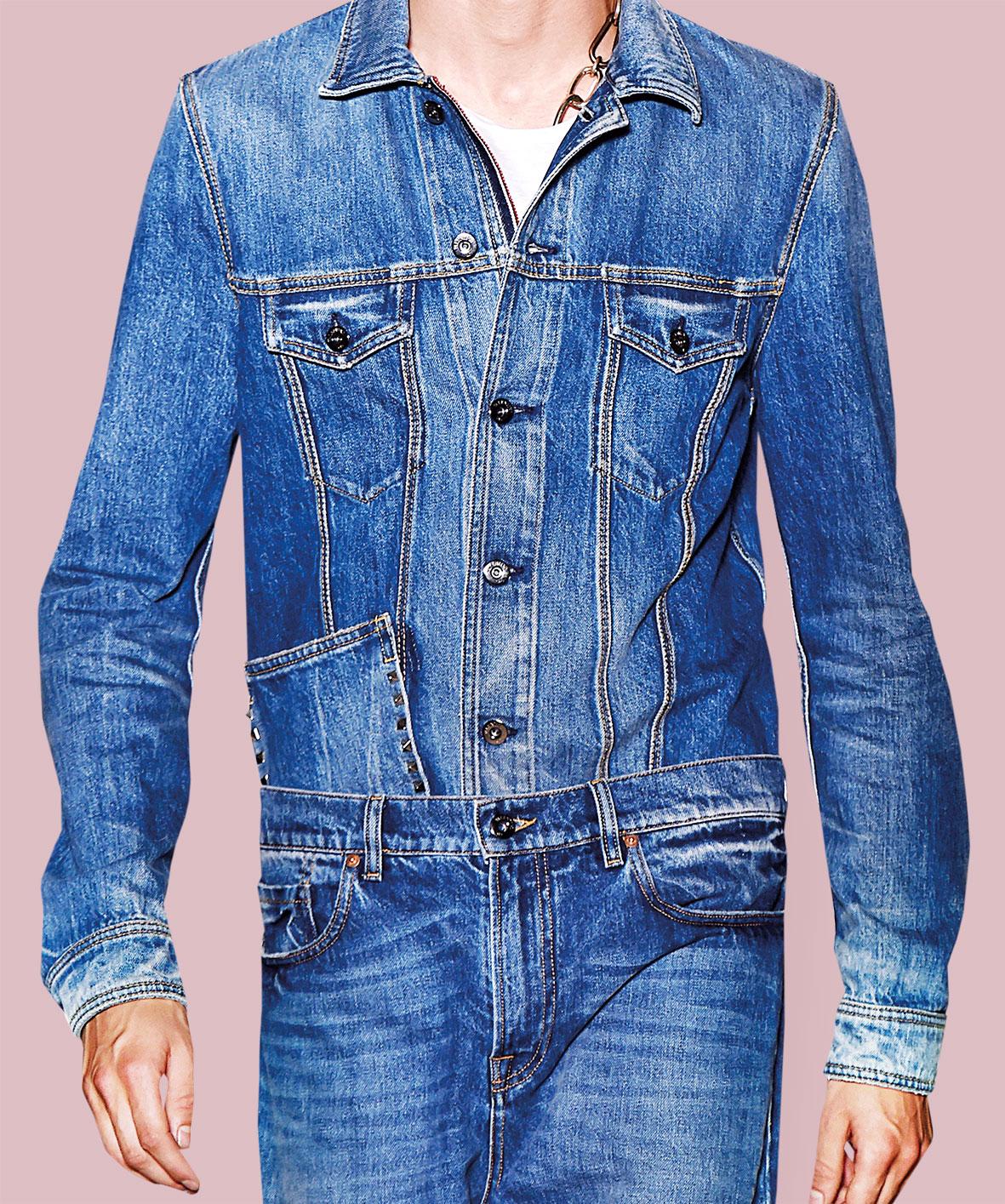 Hosenschlitz an Jeans nähen