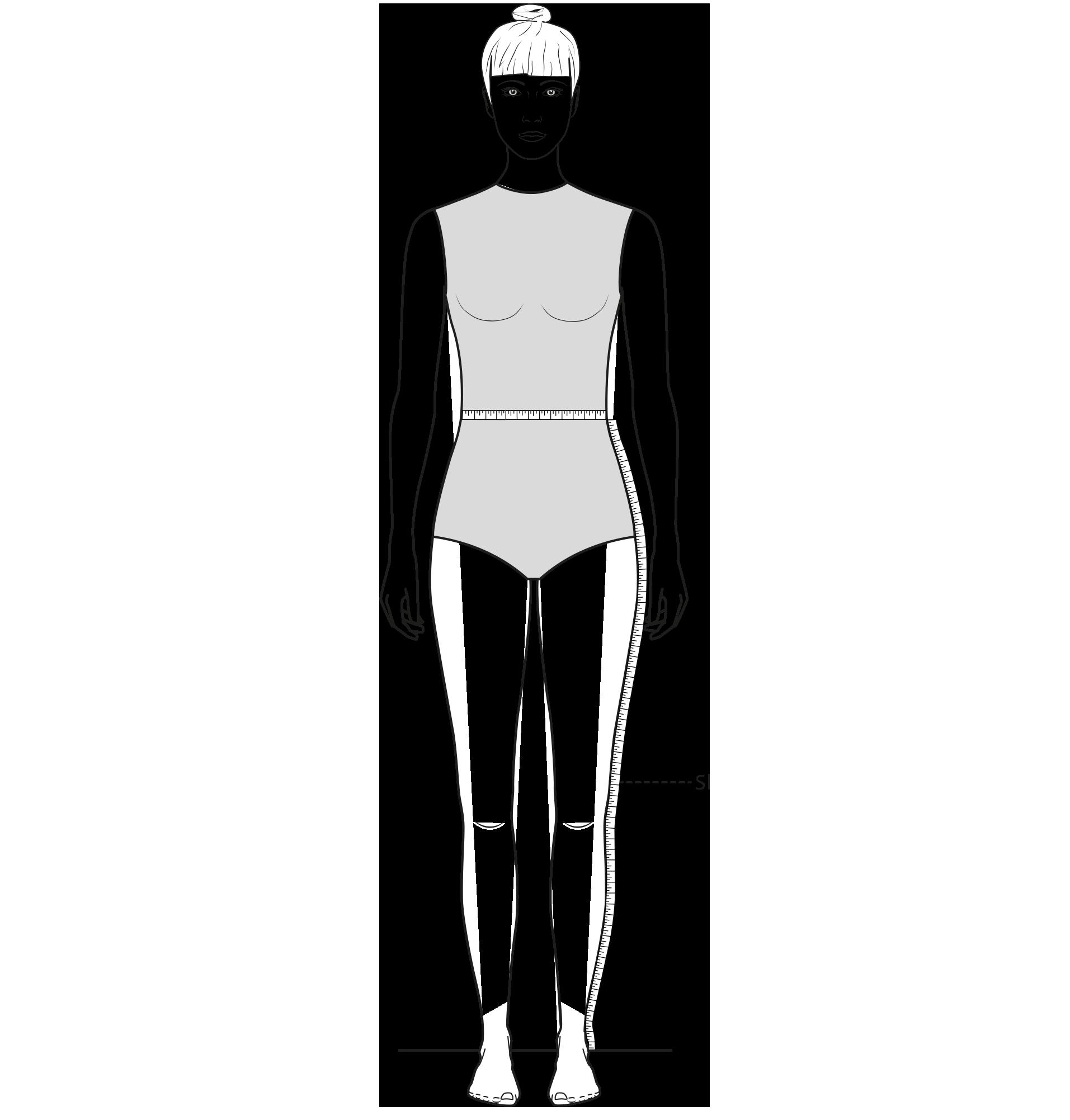 Diese Zeichnung zeigt das Messen der Seitenlänge.
