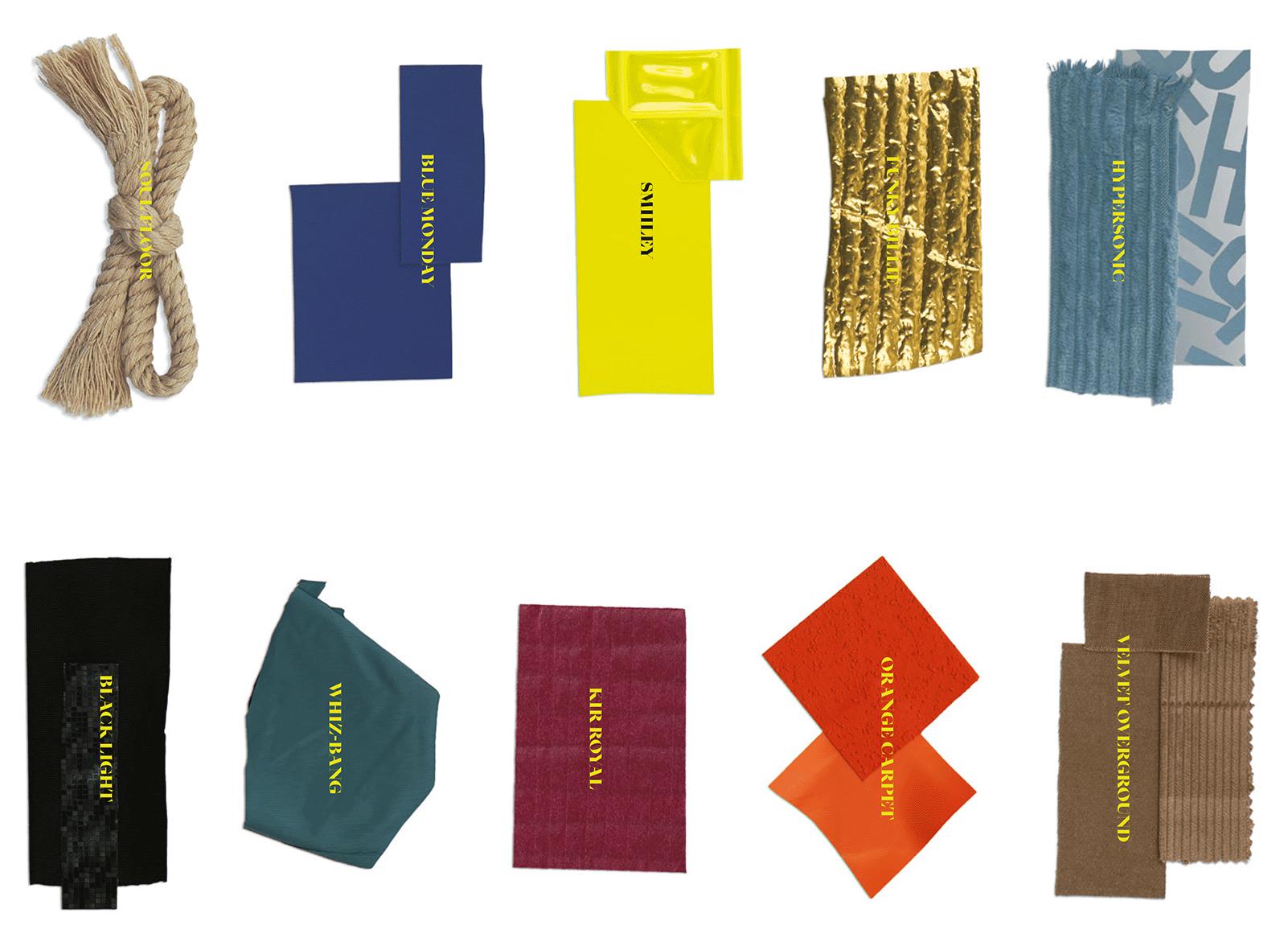 Die neusten Stoffe der Modetrends von der Munich Fabric Start