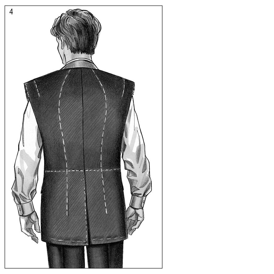 Anleitung zur Anprobe von Maßbekleidung
