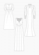 Produkt: PDF-Download: Schnitt-Technik Brautkleider 2