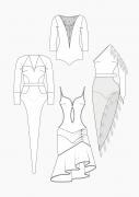 Produkt: Schnitt-Technik Tanzkleider (Latein)