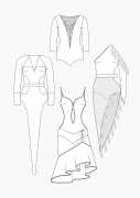 Produkt: Schnitt-Technik Tanzkleider