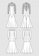 Produkt: Schnittmuster Tanzkleider - Standardtanz