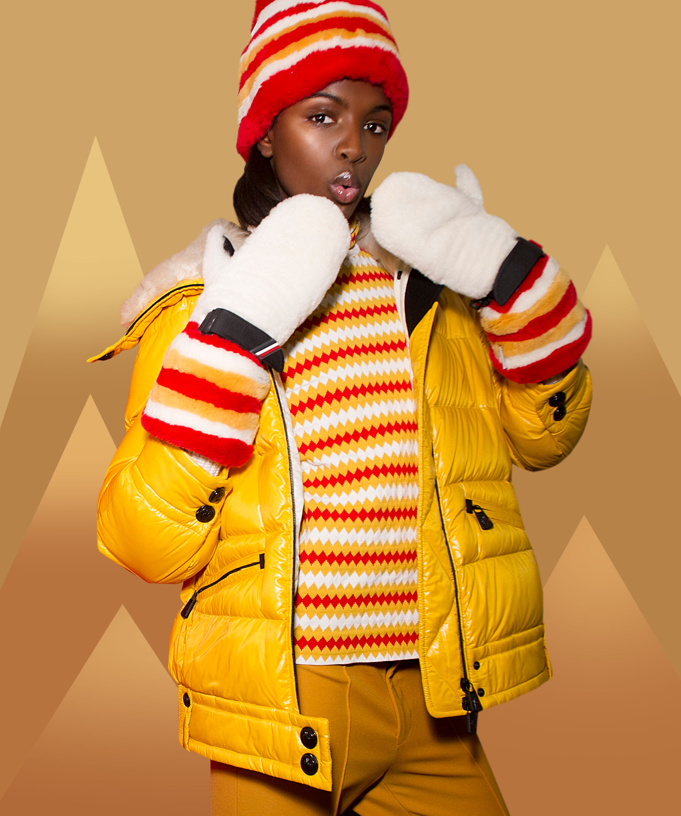 Ski suit by Moncler