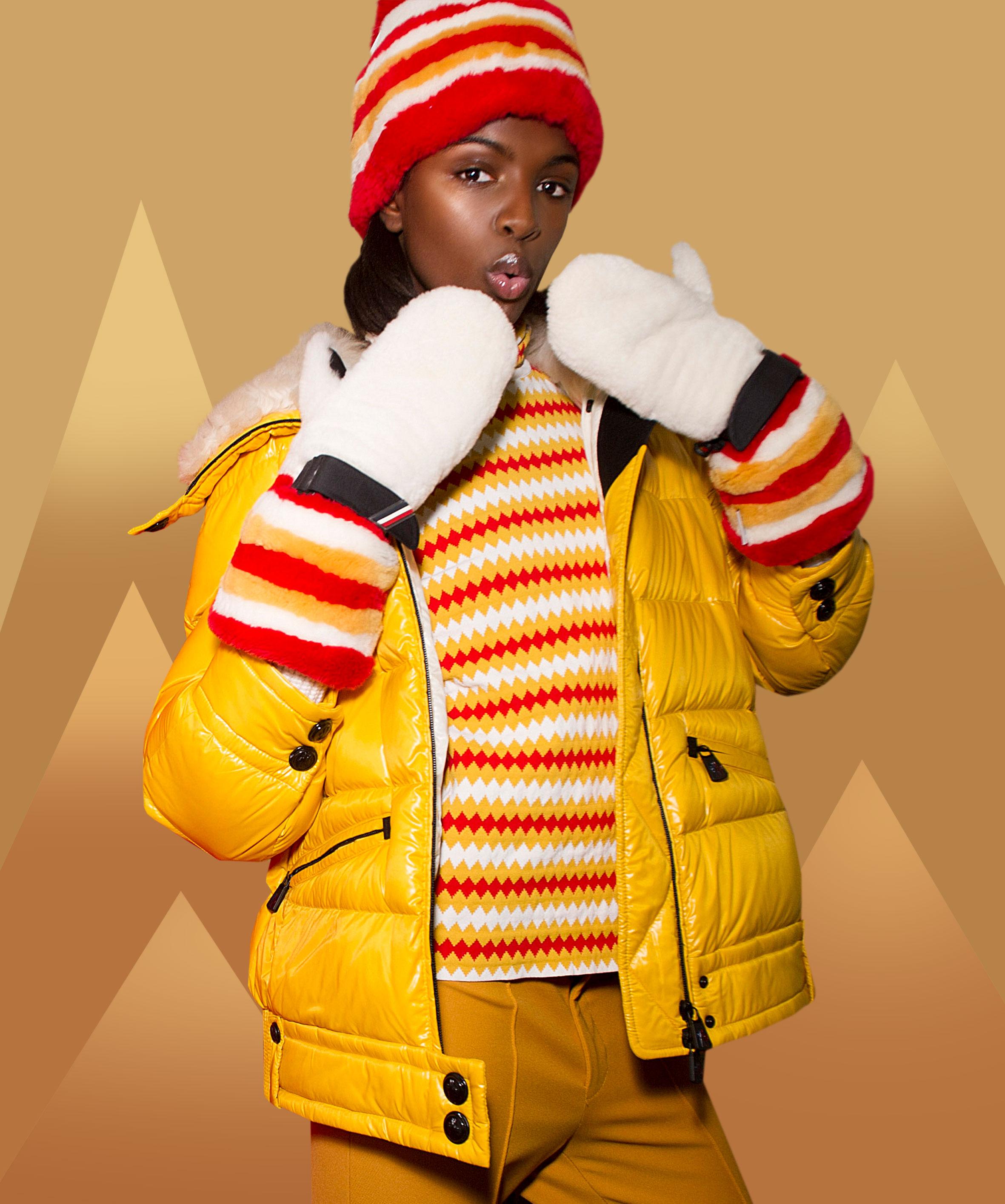 Ski suit by Moncler