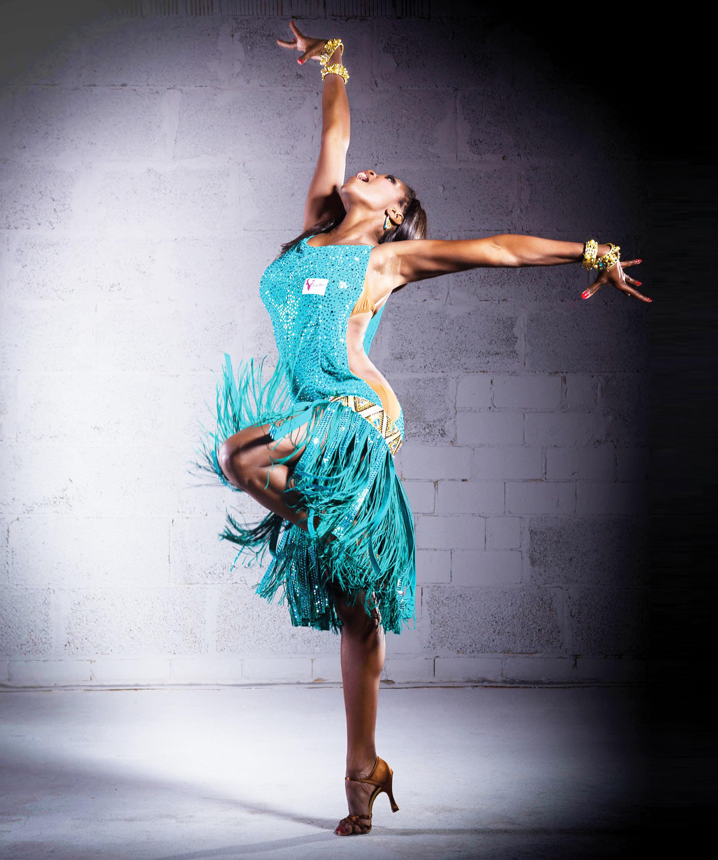 Dress by V-STUDIO dance fashion