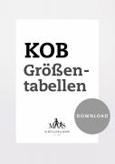 Produkt: PDF-Download: Download KOB Größentabelle Oberbekleidung