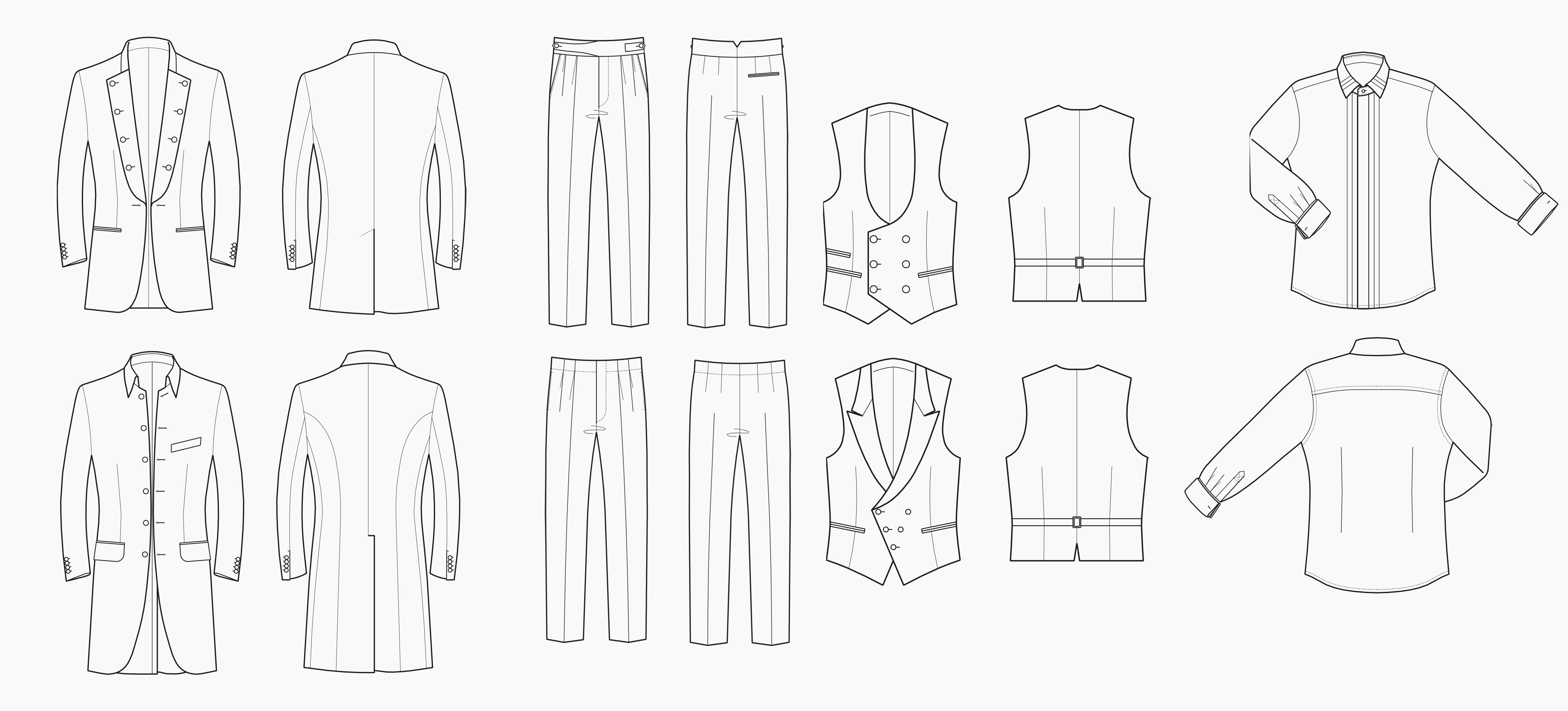 Outfits für den Bräutigam