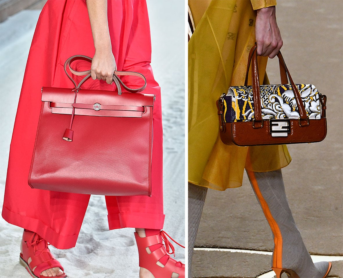 Trend Taschen auf dem Laufsteg