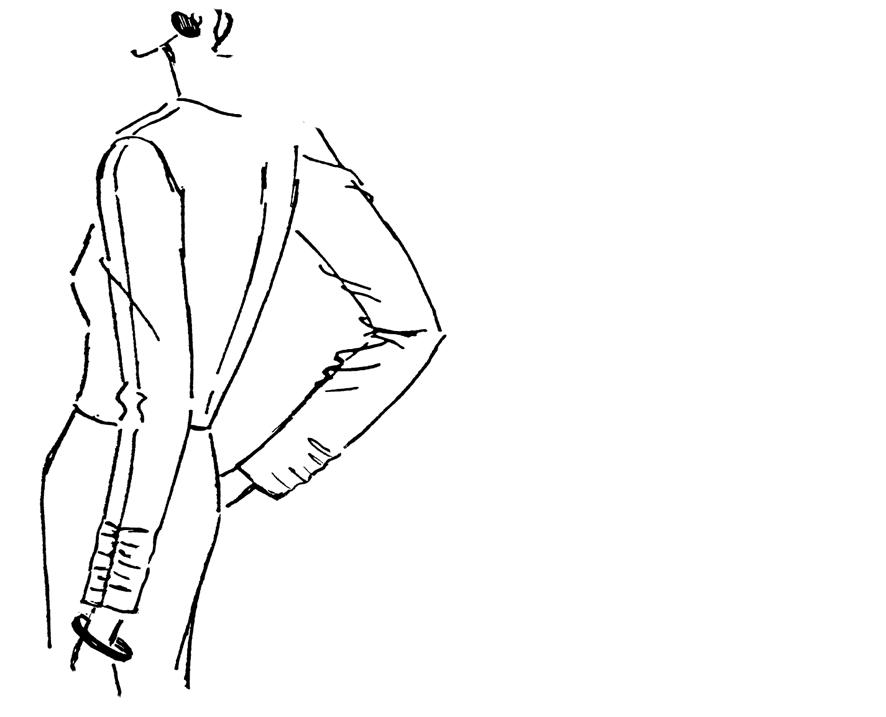 Bluse mit gerafftem Ärmel