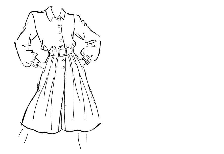 Culotte Jumpsuit bzw. Hosenkleid