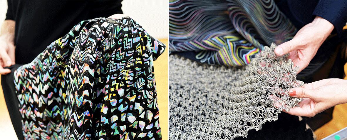 Innovative Textilien von Jakob Schlaepfer
