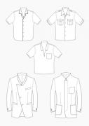 Produkt: Download Schnitt-Technik HAKA Kragenvarianten am Sakko und Hemd