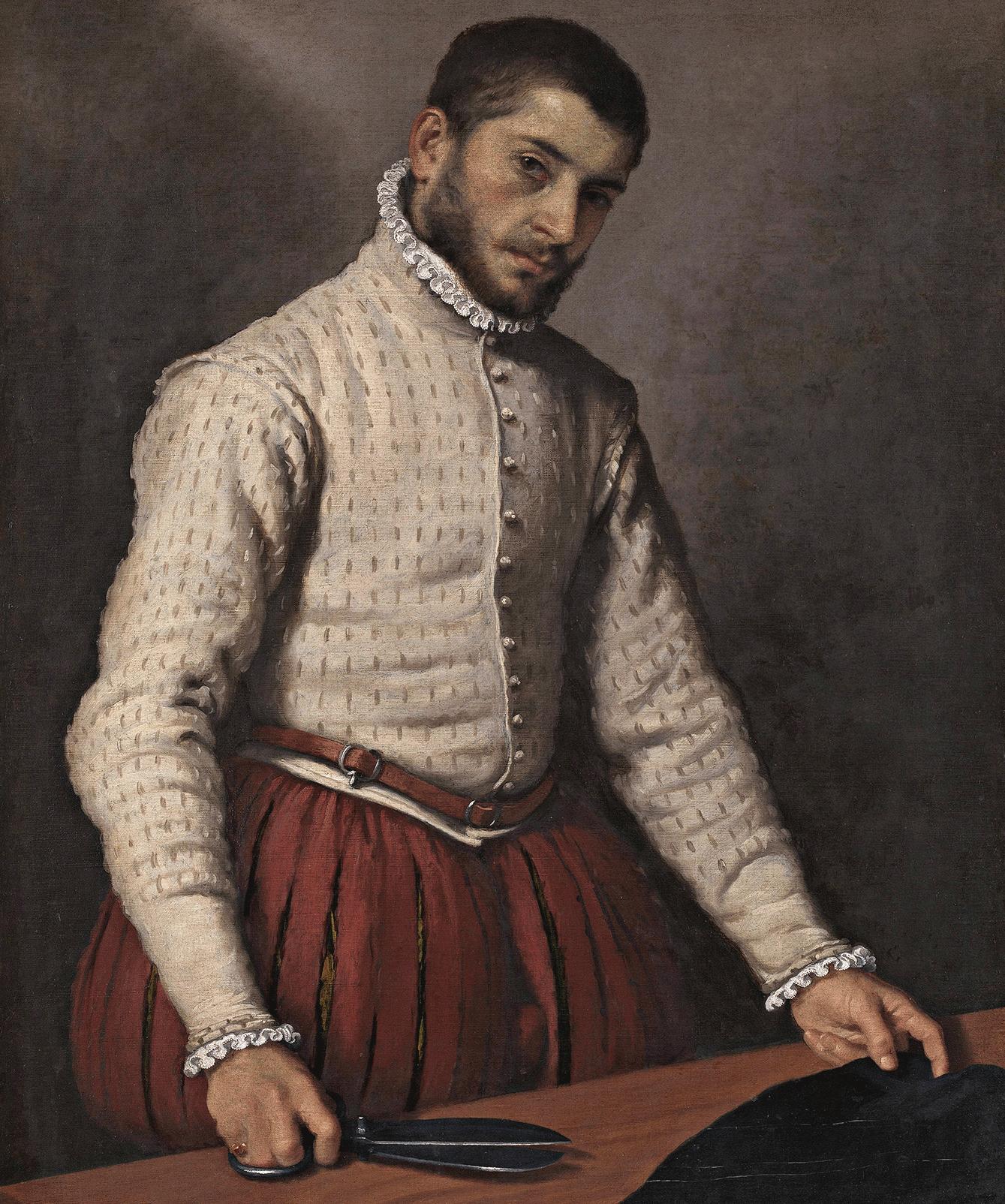 Gemälde eines Schneiders