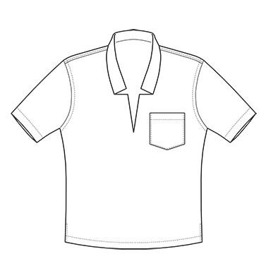 Hemd mit V-Ausschnitt