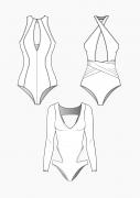 Produkt: PDF-Download: Schnitt-Technik Badeanzüge