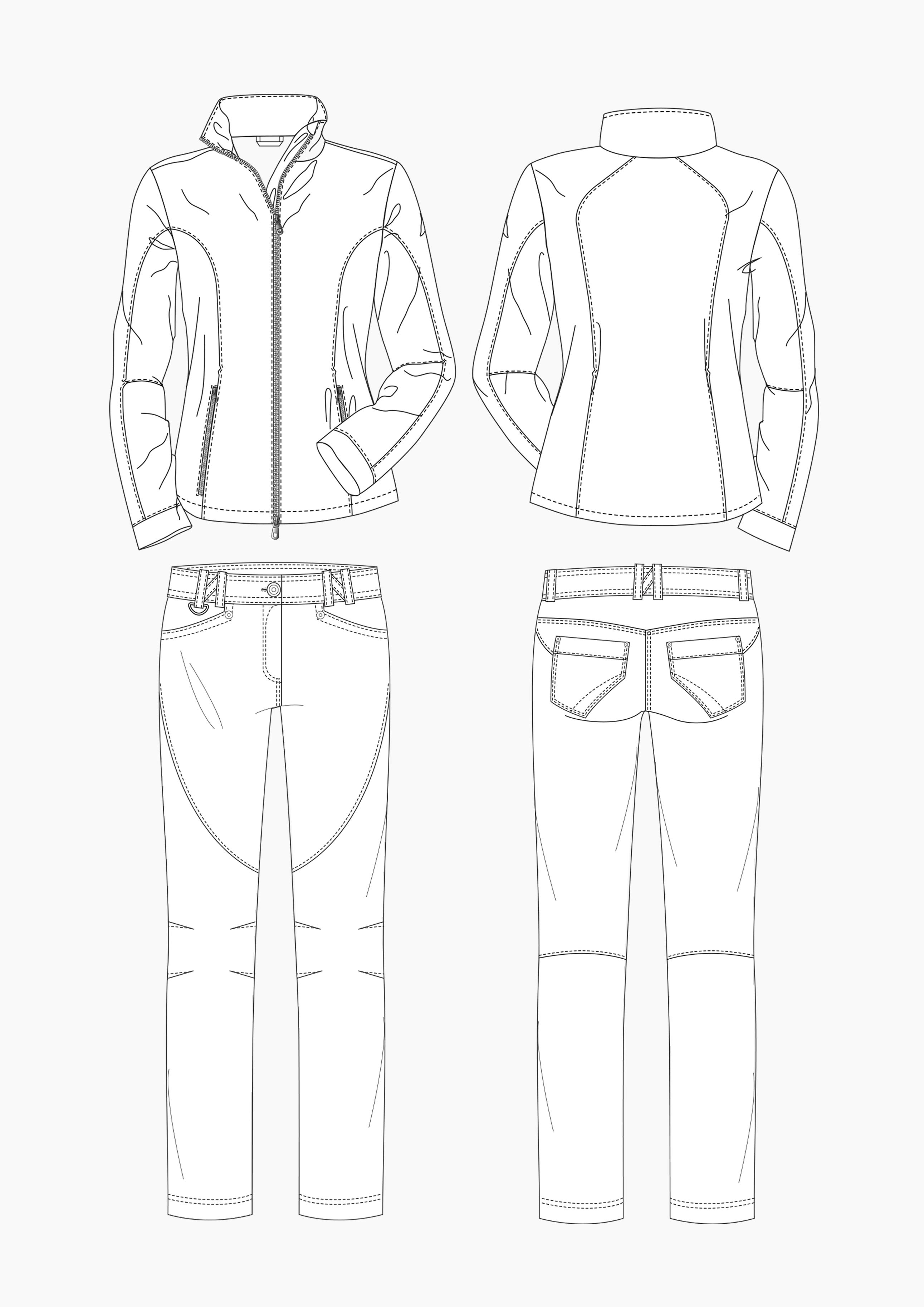 Produkt: Schnitt-Technik Golfbekleidung