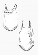 Produkt: Schnitt-Technik Badeanzüge für Kinder