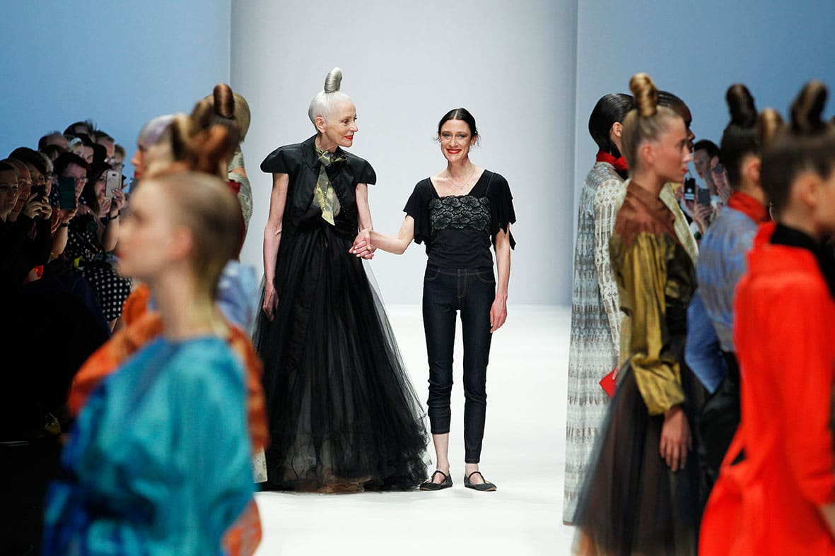 Isabel Vollrath bei Berlin Fashion Week