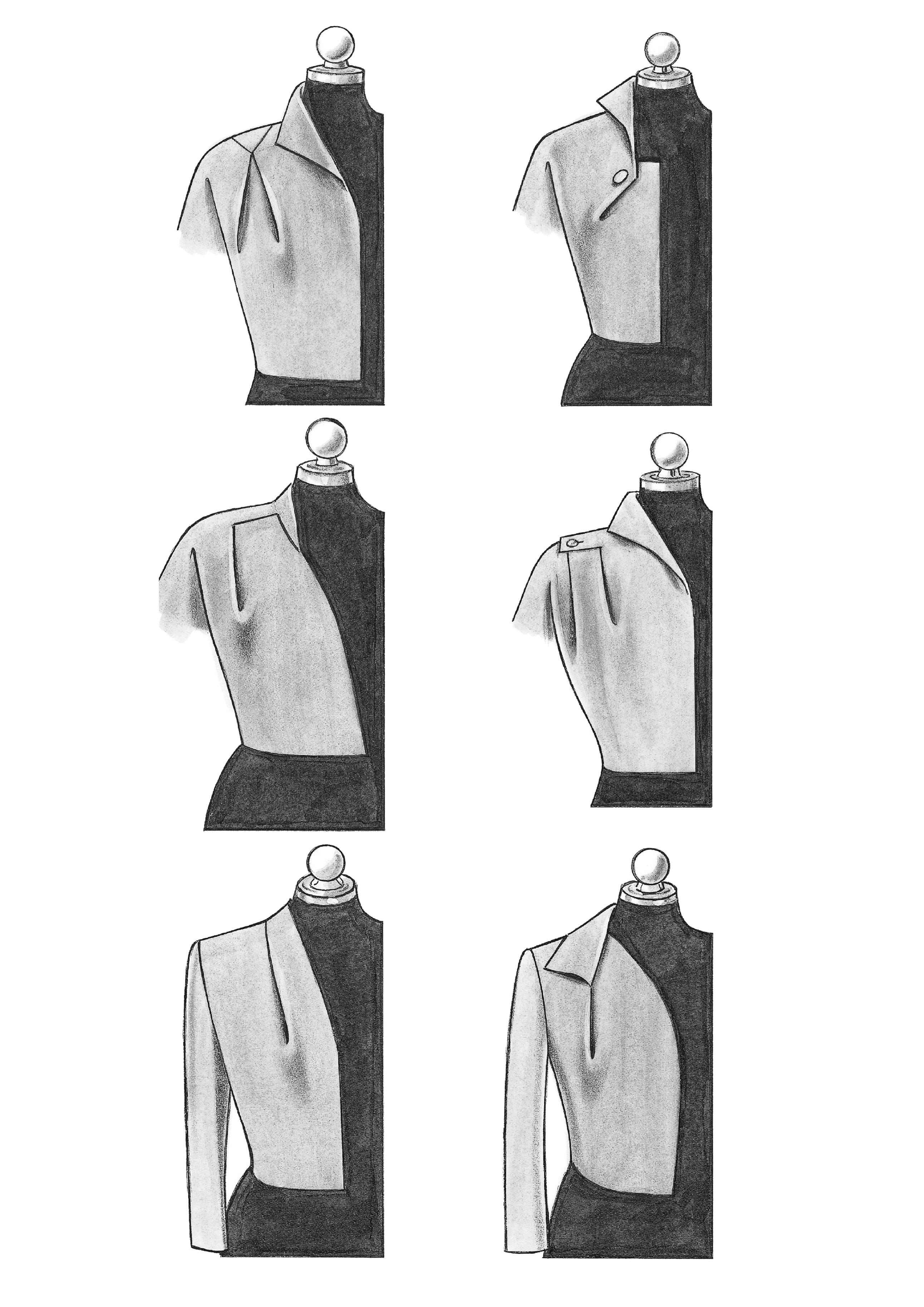 Produkt: Schnitt-Technik Couture-Abnäherverlegung