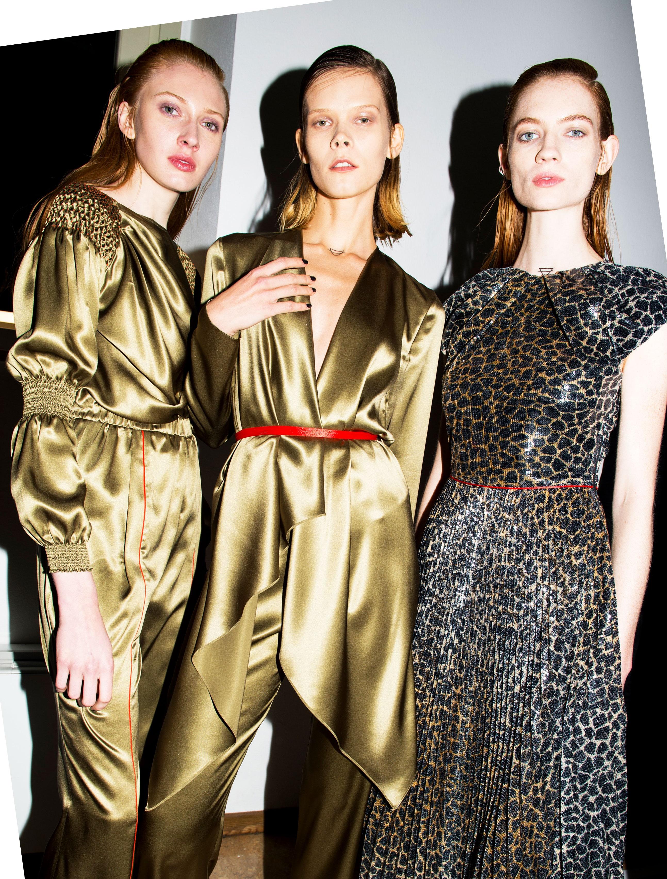 Kleider von Vionnet aus der Winter Kollektion 2018