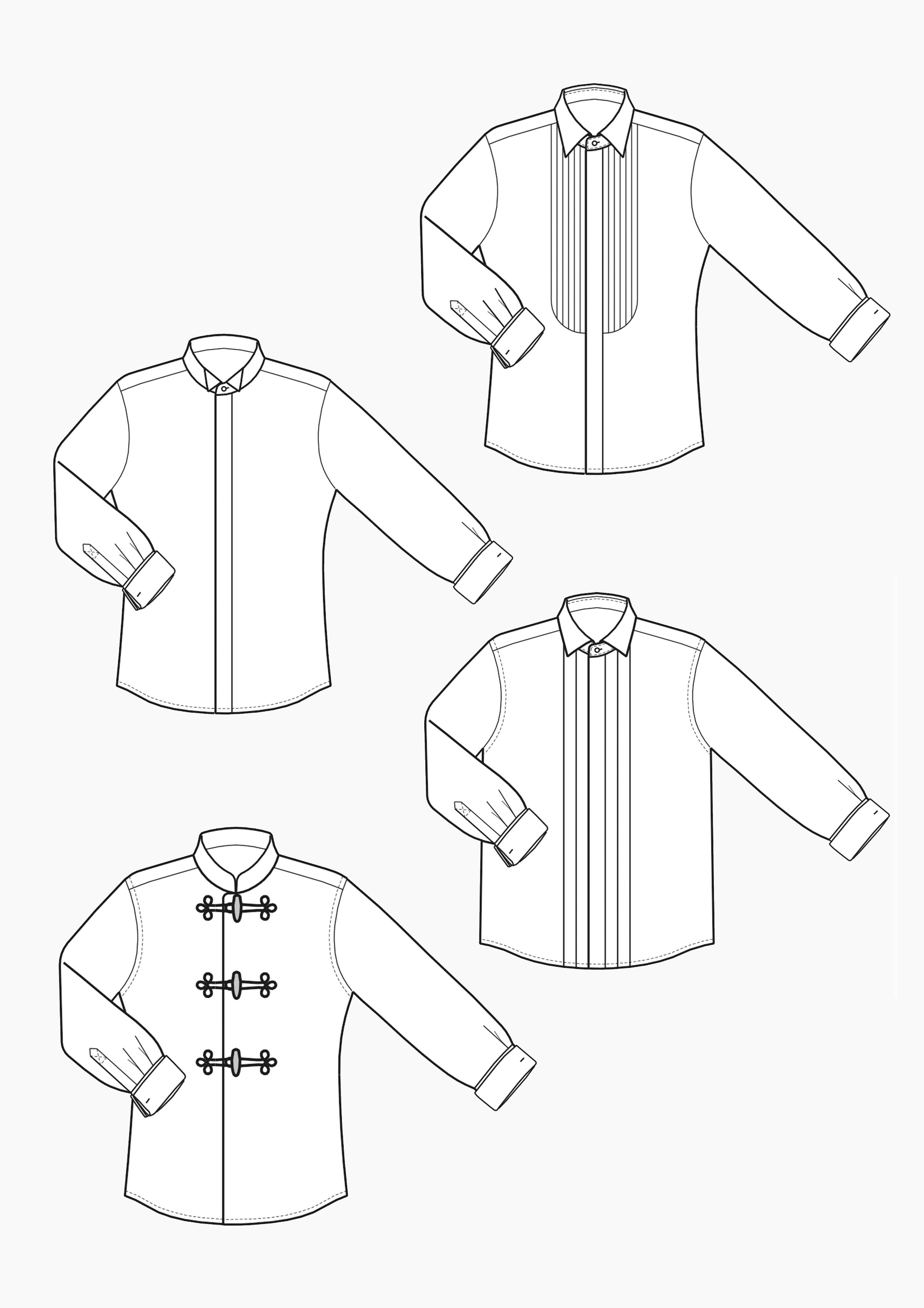 Produkt: Schnitt-Technik Hemden für Dirigenten