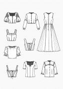 Produkt: PDF-Download: Download Schnitt-Technik KOB Trachten für Mädchen