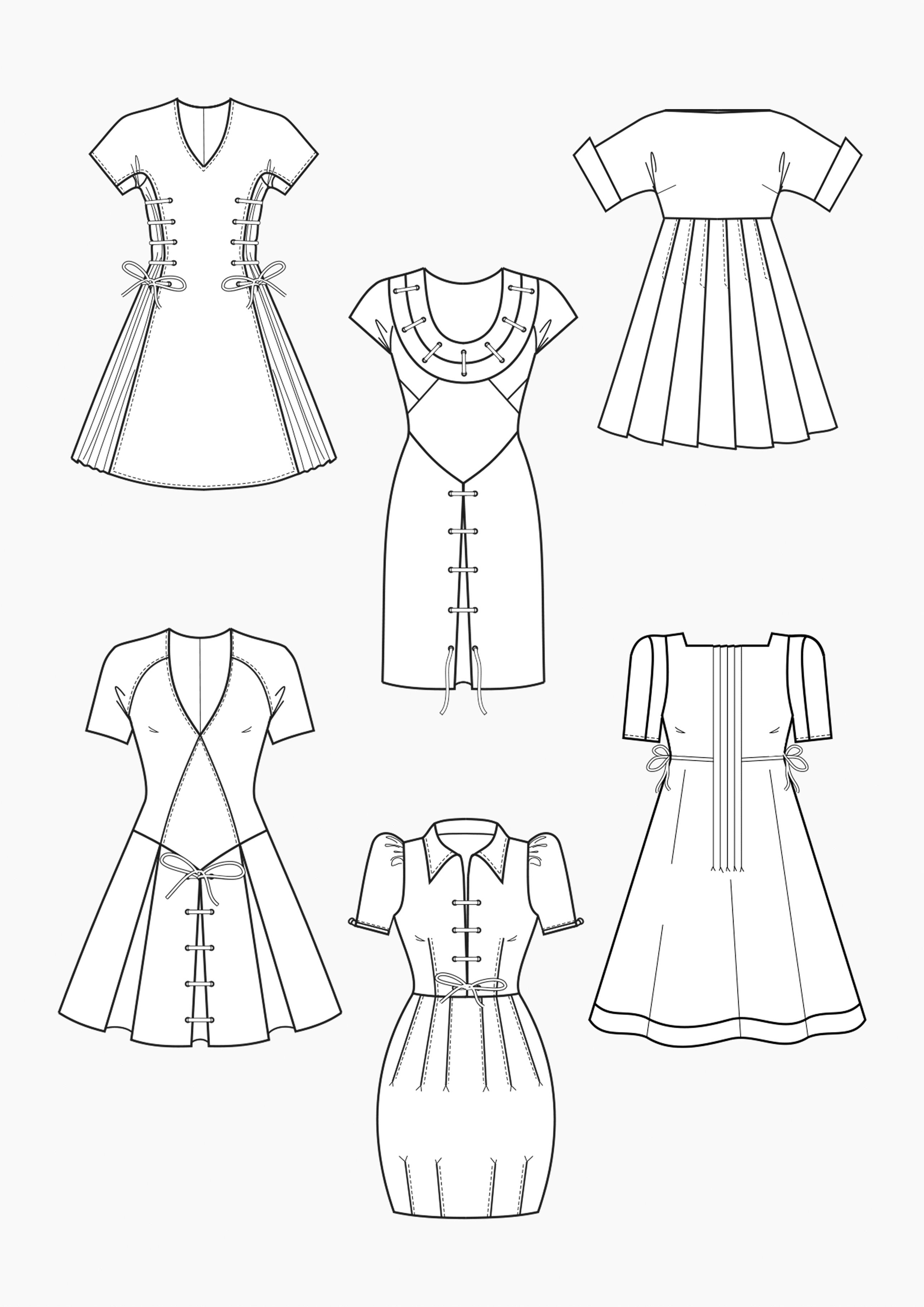 Produkt: Schnitt-Technik Kleider mit Schnürung