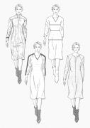 Produkt: Schnitt-Technik Kleider in Großen Größen