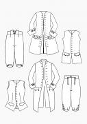 Produkt: PDF-Download: Schnitt-Technik Historische Mode Rokoko für Herren