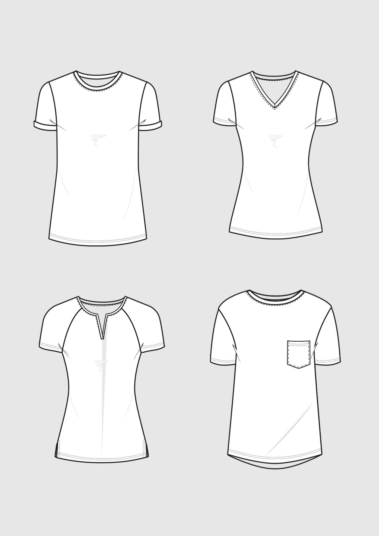 Produkt: Schnittmuster T-Shirts