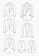 Produkt: Schnitt-Technik Smoking-Jacken und Smoking-Westen