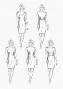 Produkt: PDF-Download: Download Schnitt-Technik DOB Abnäher- und Nahtvarianten Kleider
