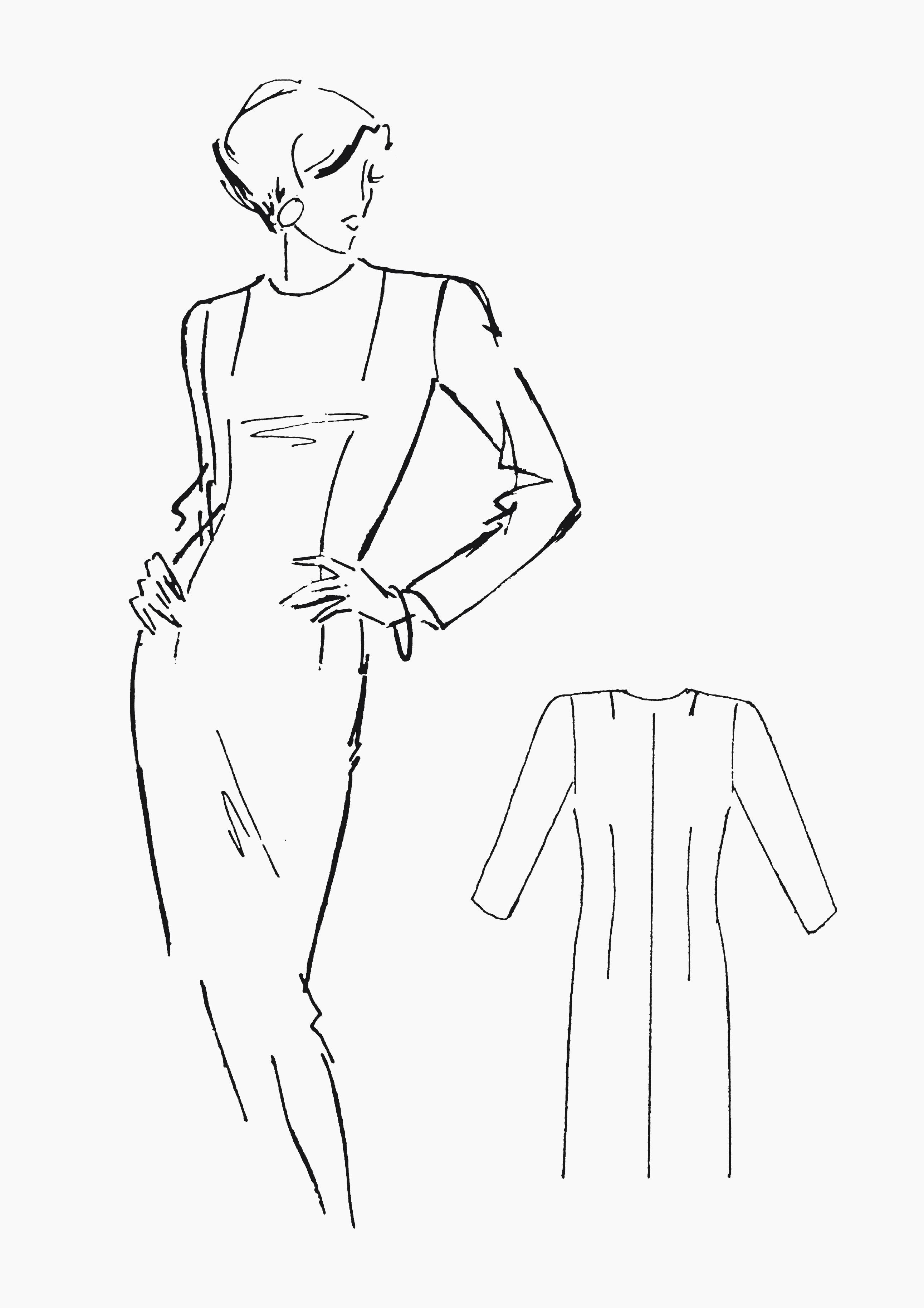 Produkt: Schnitt-Technik Grundschnitt Kleid