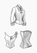 Produkt: Download Schnitt-Technik DOB Historische Mode Gründerzeit