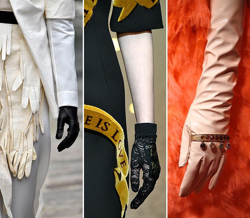 Elegante Handschuhe
