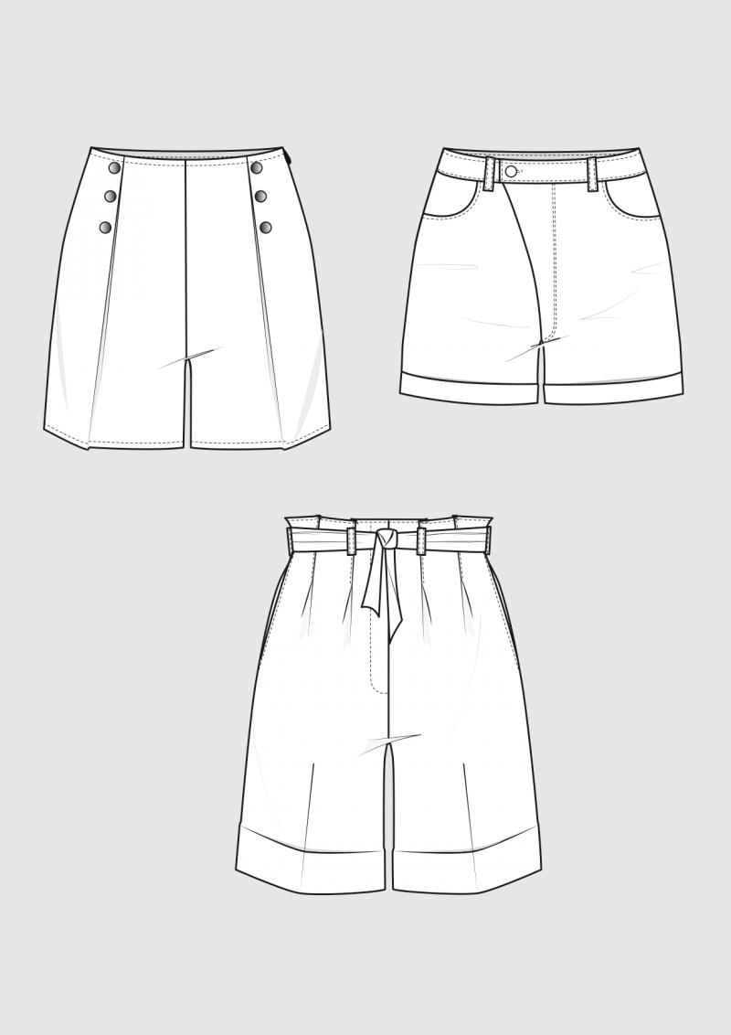Produkt: Schnittmuster Shorts