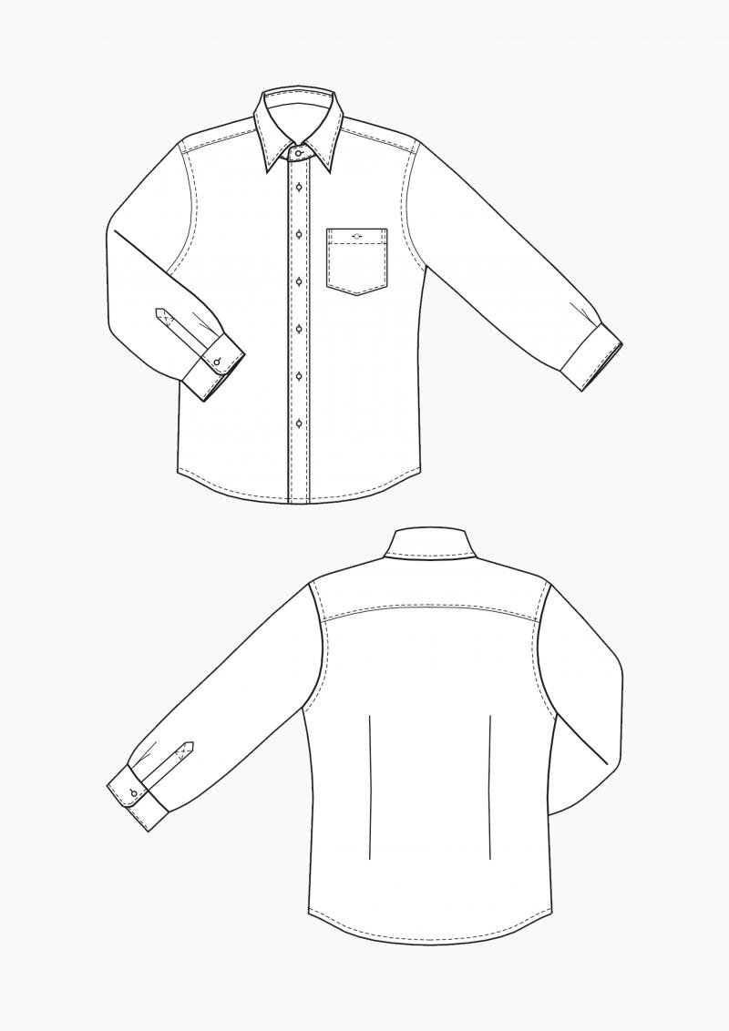 Produkt: Gradieren Hemd für Herren