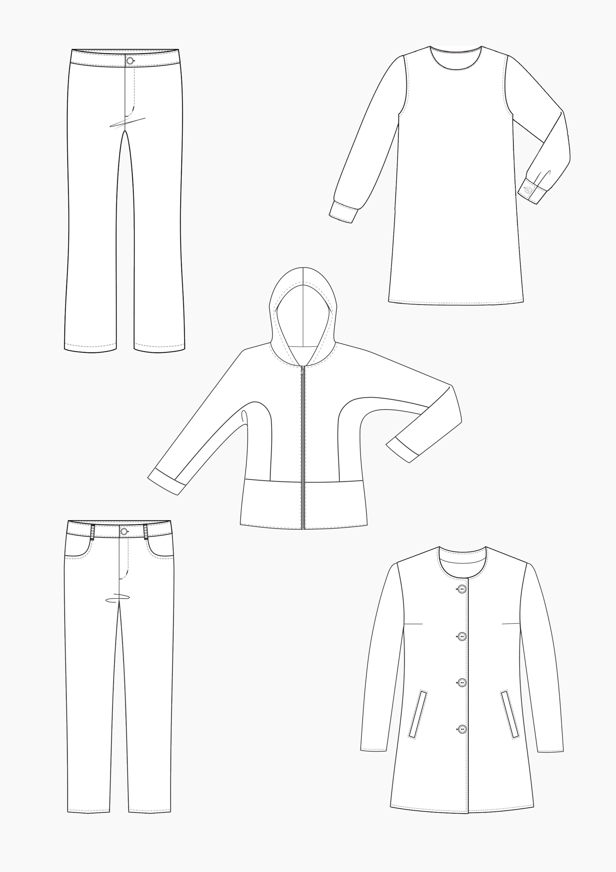 Produkt: Gradieren von Kinderbekleidung