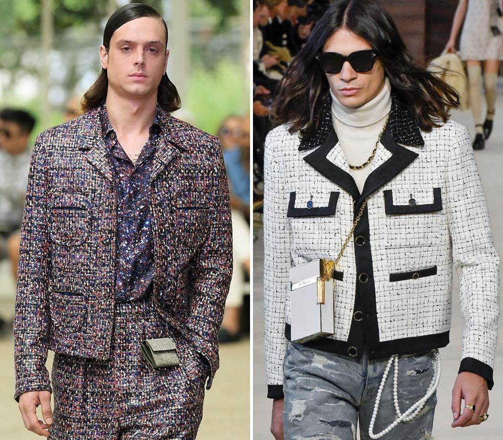 Boucle Jacken für Männer
