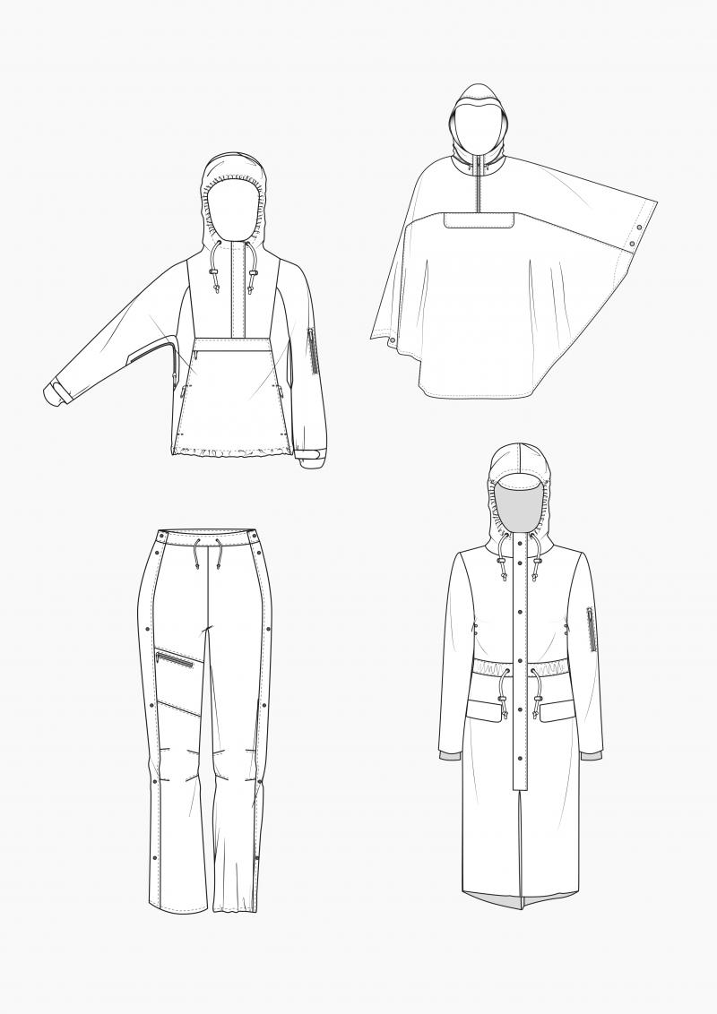 Produkt: Schnitt-Technik Regenbekleidung