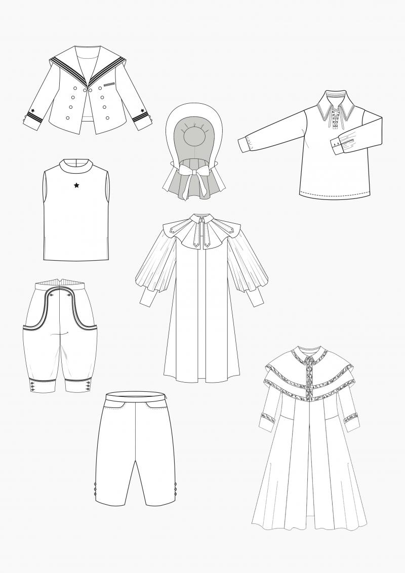 Produkt: Schnitt-Technik Historische Kinderbekleidung