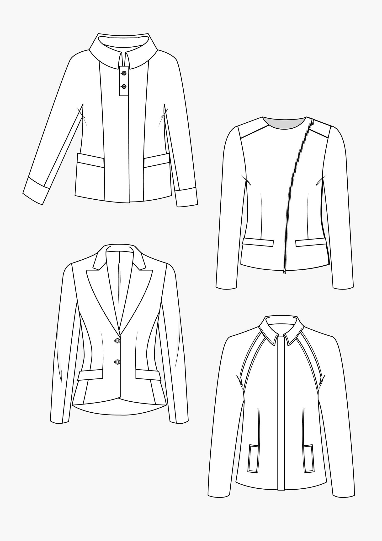 Produkt: Schnitt-Technik Business-Jacken