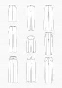 Produkt: PDF-Download: Schnitt-Technik Hosen mit hoher Taille