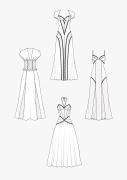 Produkt: PDF-Download: Schnitt-Technik Lange Wäschekleider