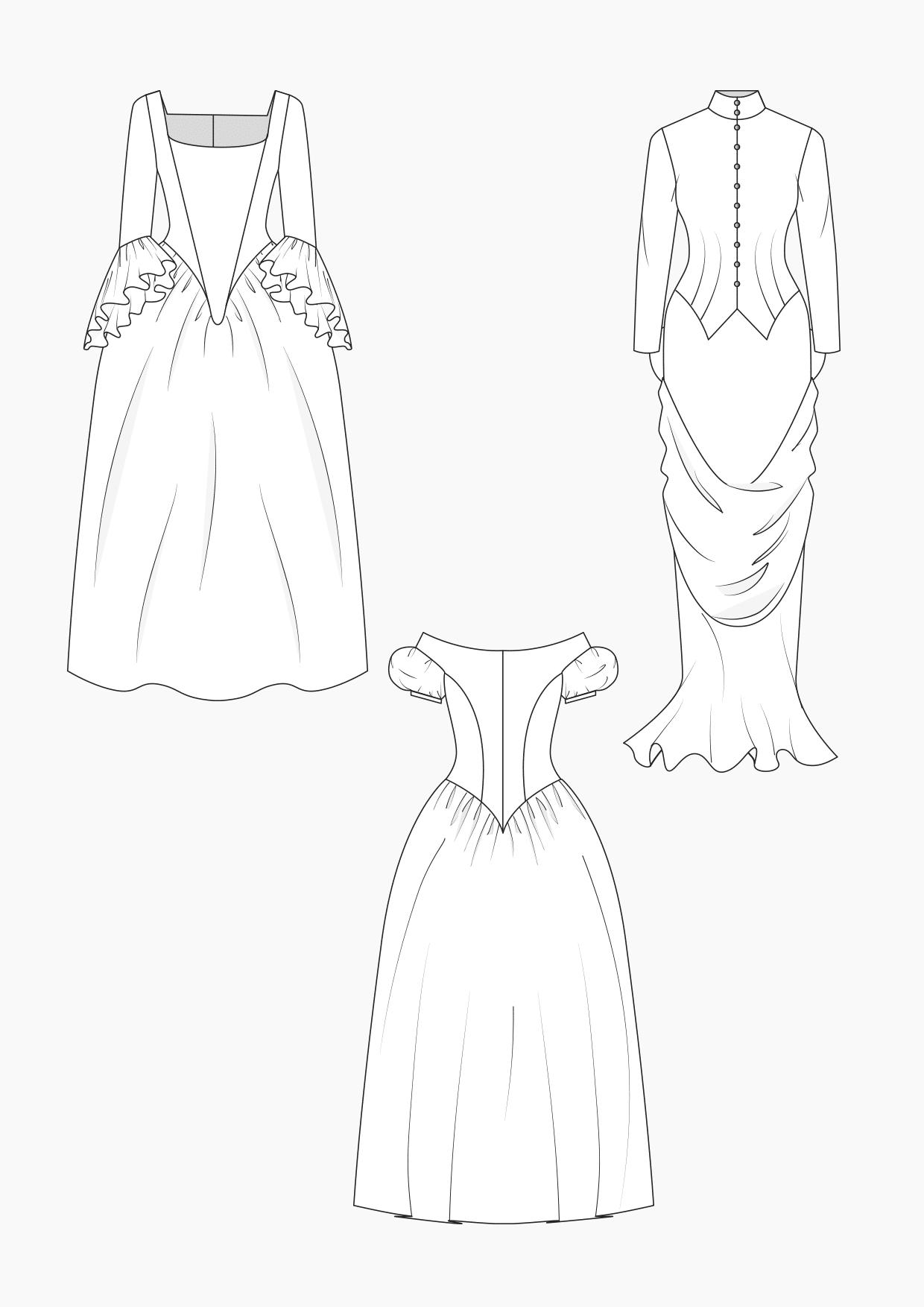 Produkt: Schnitt-Technik Historische Kleider