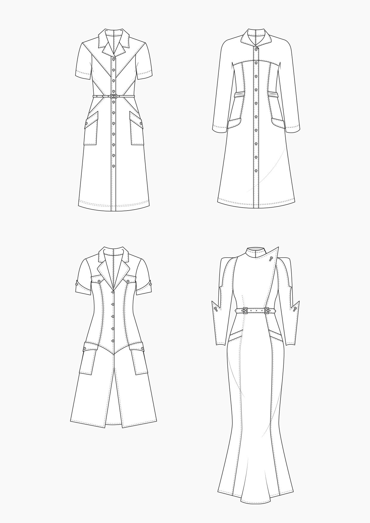 Produkt: Schnitt-Technik Hemdblusenkleider im Vintage-Look